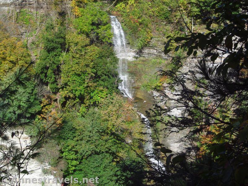 Deh-ga-ya-soh Falls from the Genesee Valley Greenway