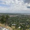 Overlooking downtown Boulder.