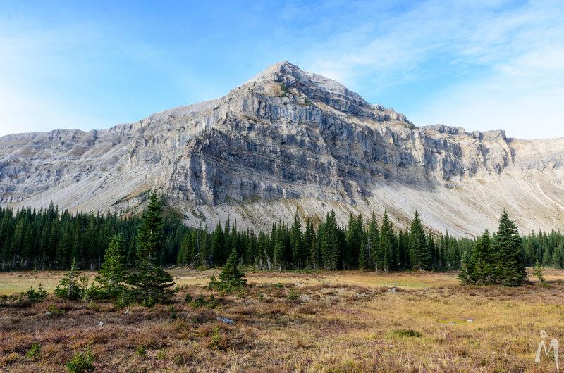 View of Trilobite Peak