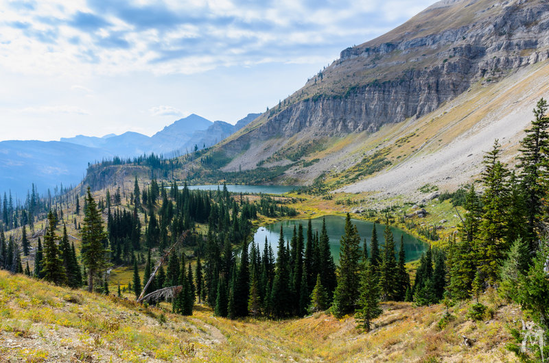 View of Trilobite Lakes