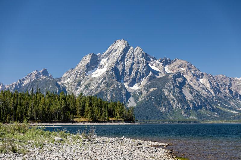 Mount Moran across Jackson Lake.