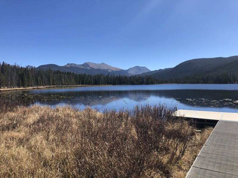Strawberry Lake. Continental Divide in the distance.