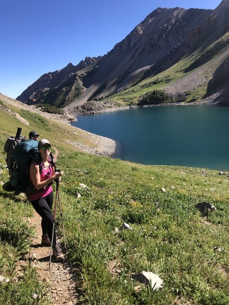 Passing Capital Lake