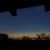 Comet Neowise from the Civilian Conservation Corps Pavilion atop Sunrise Mountain.