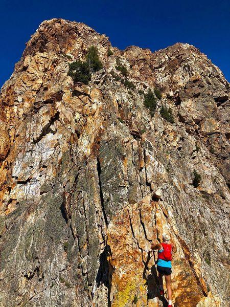 Climbing Monte Cristo