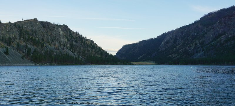 Alta Lake from the swimming beach.