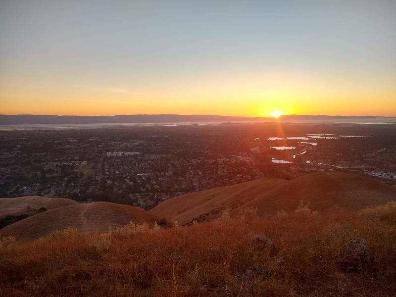 Sunset over fremont