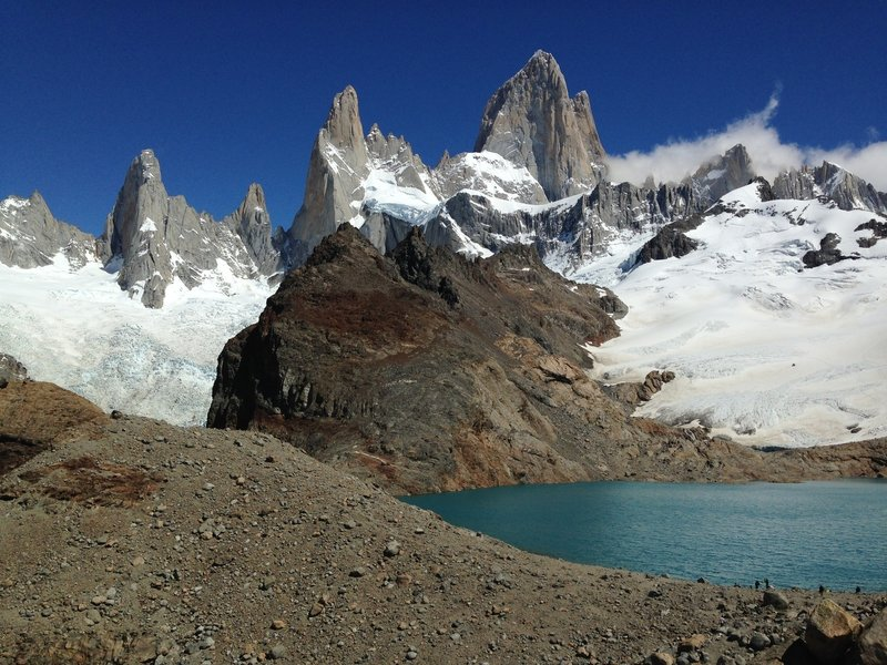 Fitz Roy and his buddies