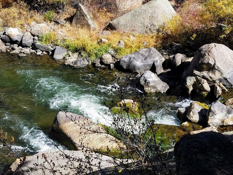 South Platte River cascading along Platte River Trail #654.