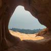 Skull's-eye View - looking through Skull Rock.