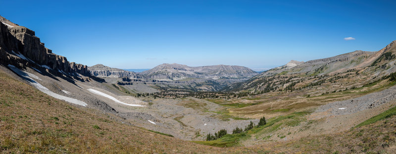 Alaska Basin from Static Peak Divide.