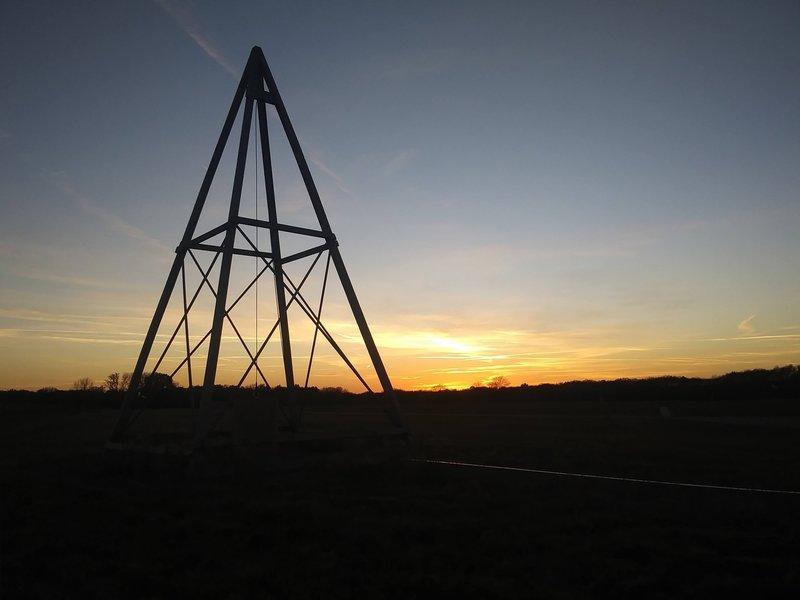 A tower at Huffman prairie.