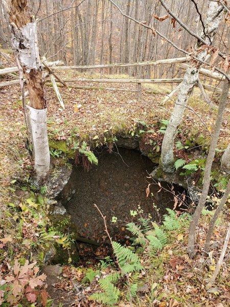 Kemp Mine, an abandoned mica mine.