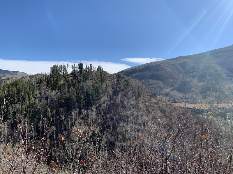 Good day hike with good scenic views, but close to the road.