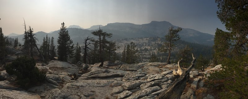 Looking across Murphy Creek from the shoulder of Polly Dome.