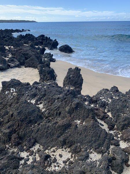 Little beach...