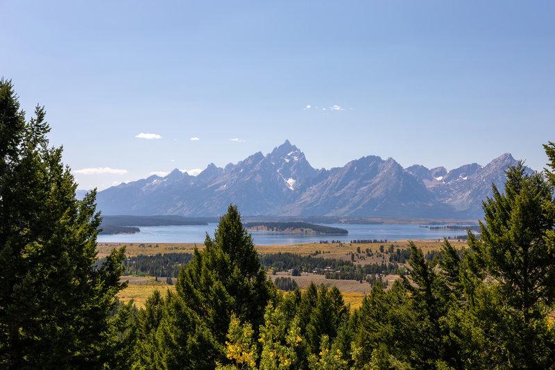 Jackson Lake and Grand Teton