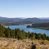 The eastern half of Emma Matilda Lake.
