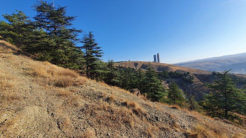 Looking east while climbing Bangabandhu Şeyh Mucibur Rahman Depesi