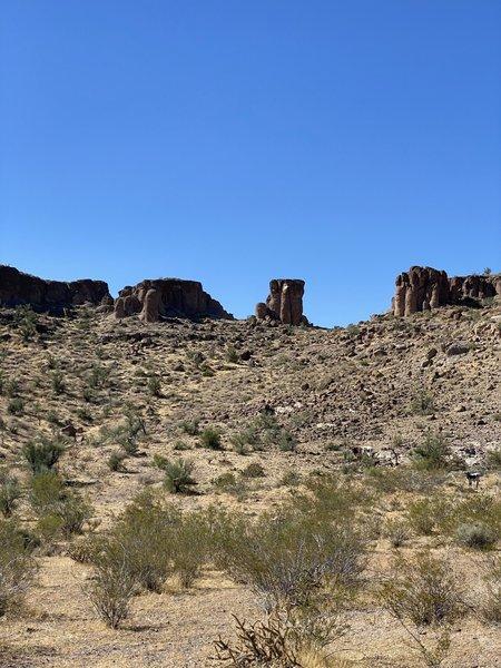 Very quiet trail midweek.