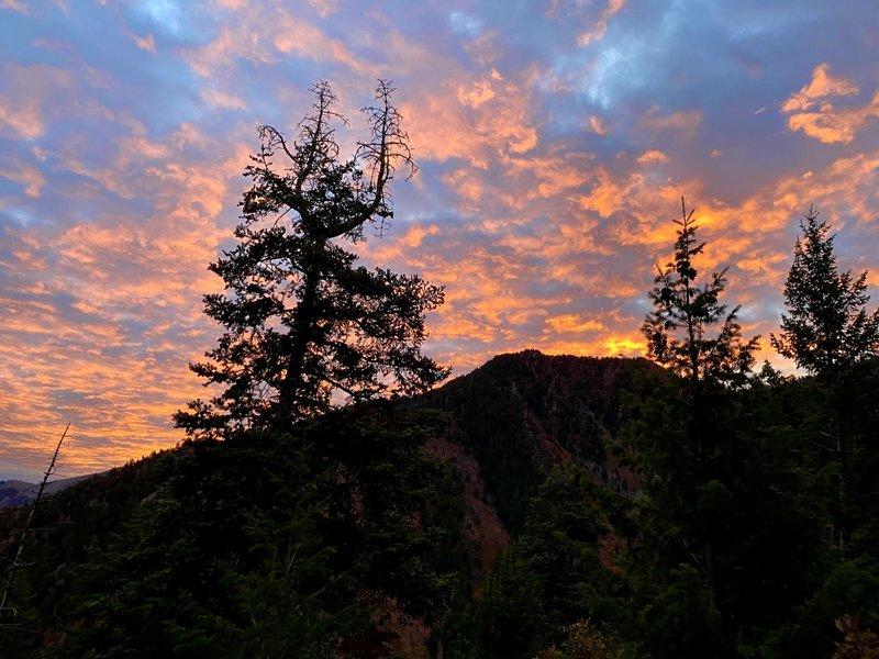 Sunrise on the Desolation Trail