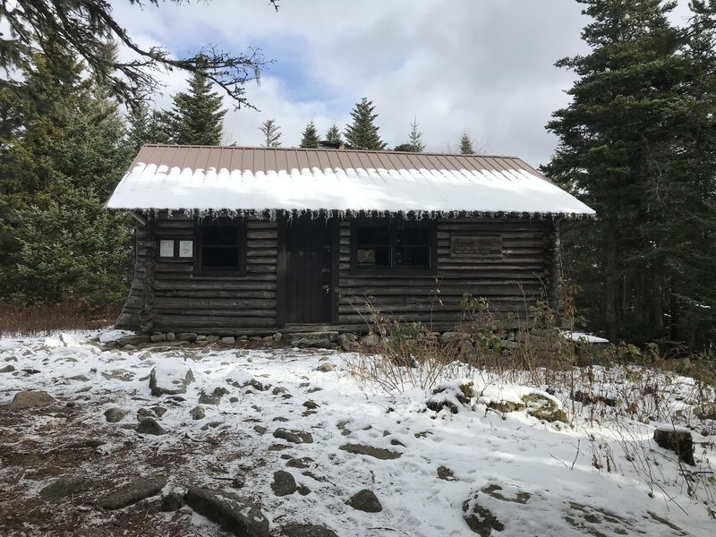 North Doublehead USFS cabin.
