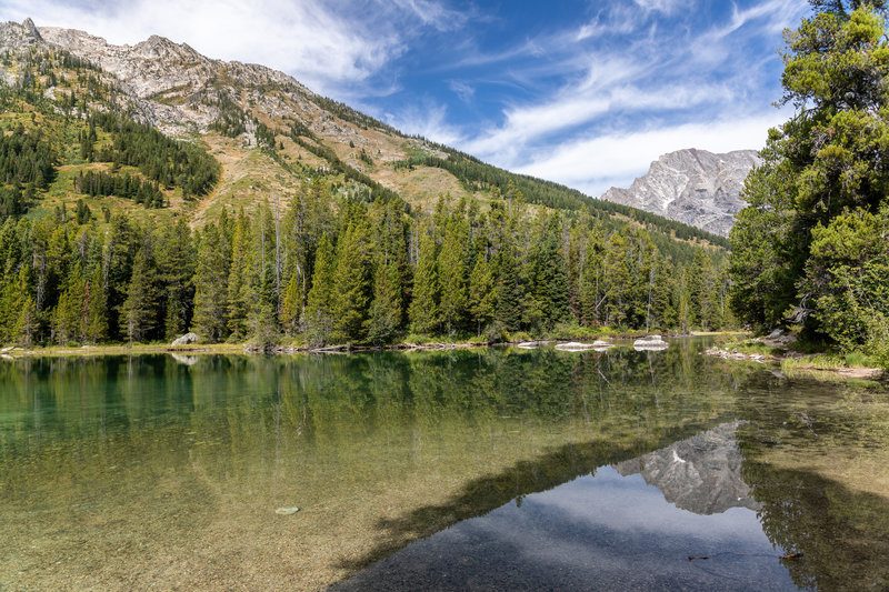 Reflections in String Lake