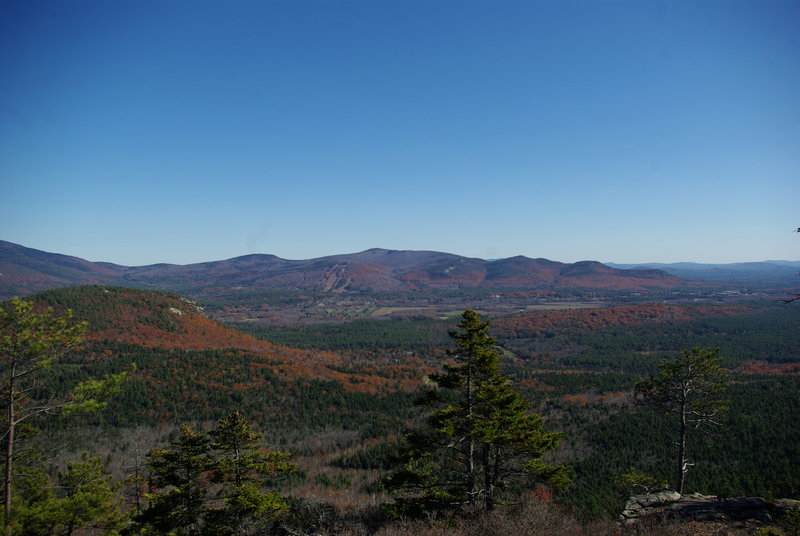 View of the valley from Red Ridge Trail.
