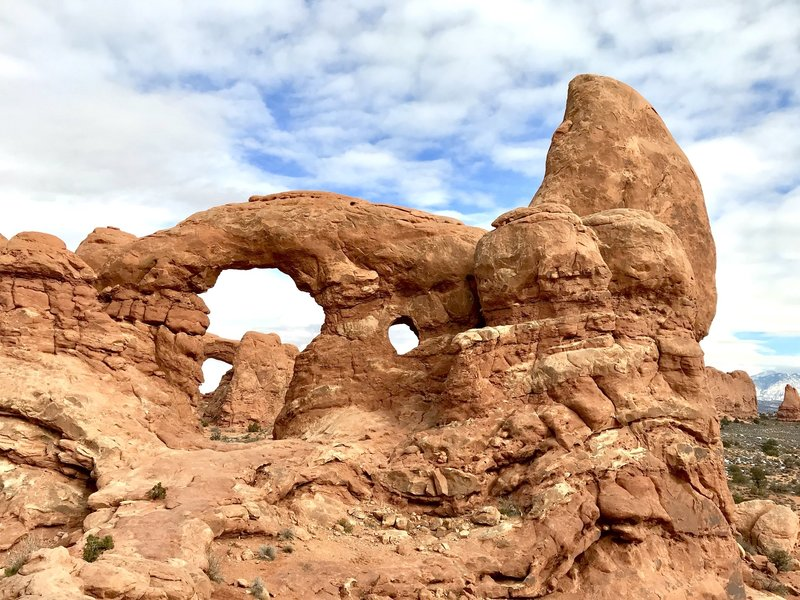 Turret Arch from the west.