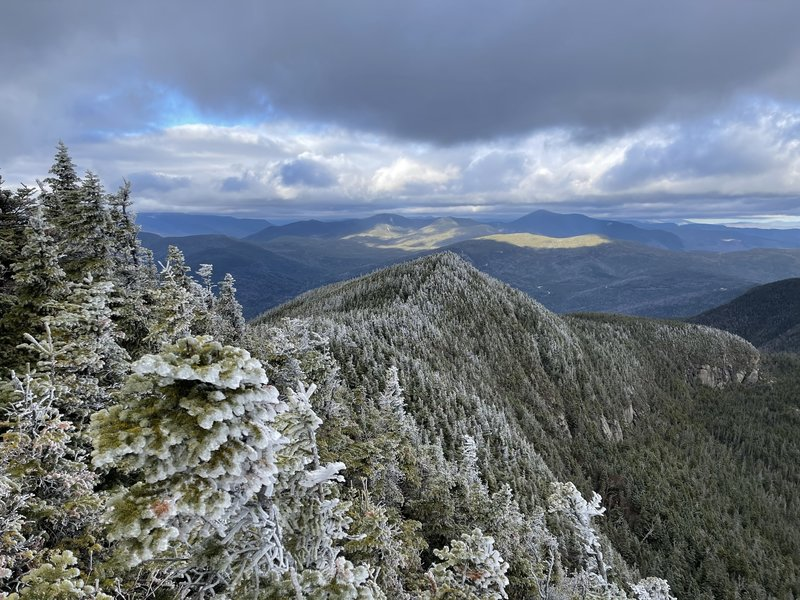 The view from the summit of Osceola.