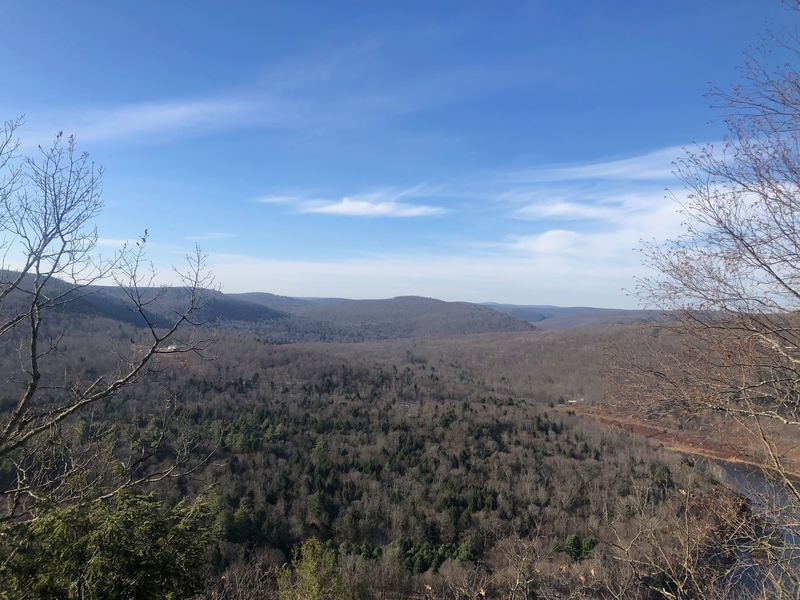 View from Jensen's Ledges.