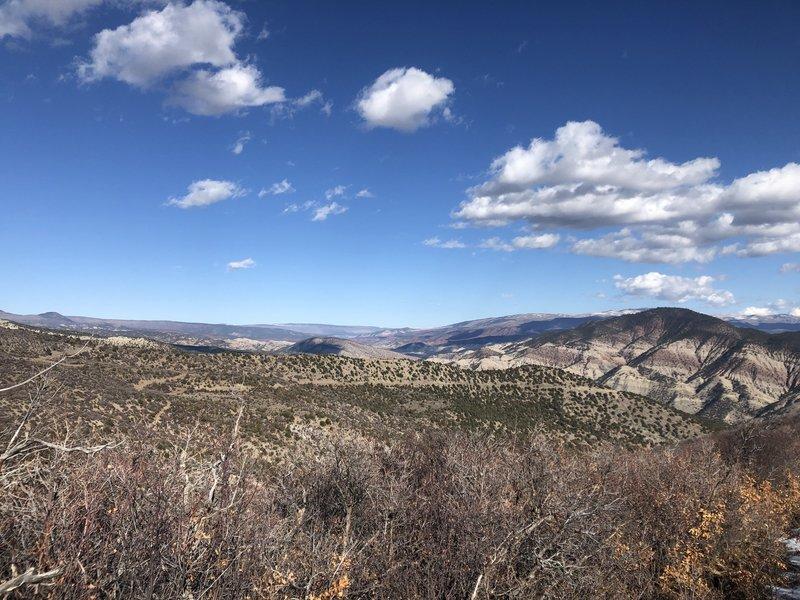 Ute Trail vista view