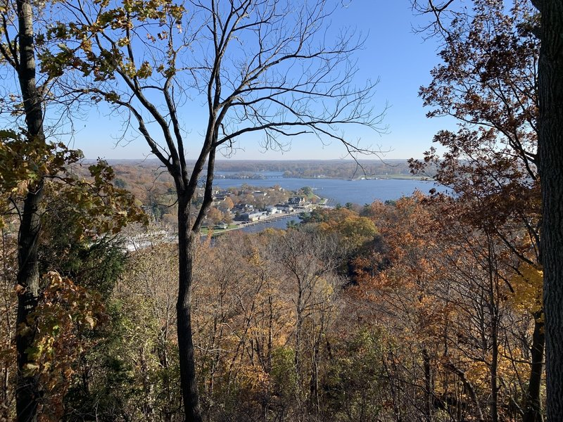 View from Mount Baldhead.