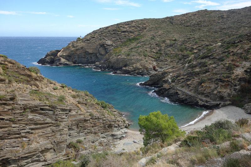 Sa Cebolla near Far de Cala Nans (Cala Nans lighthouse)