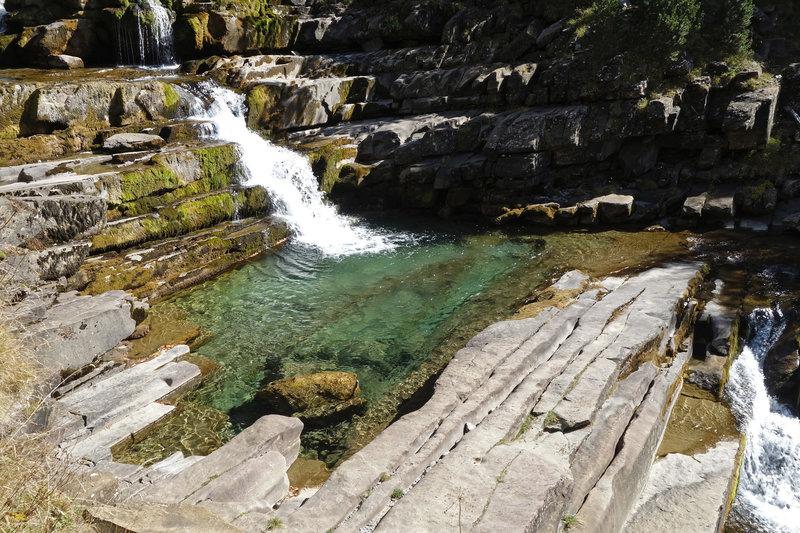 Small section of Gradas de Soaso (Soasa cascades)