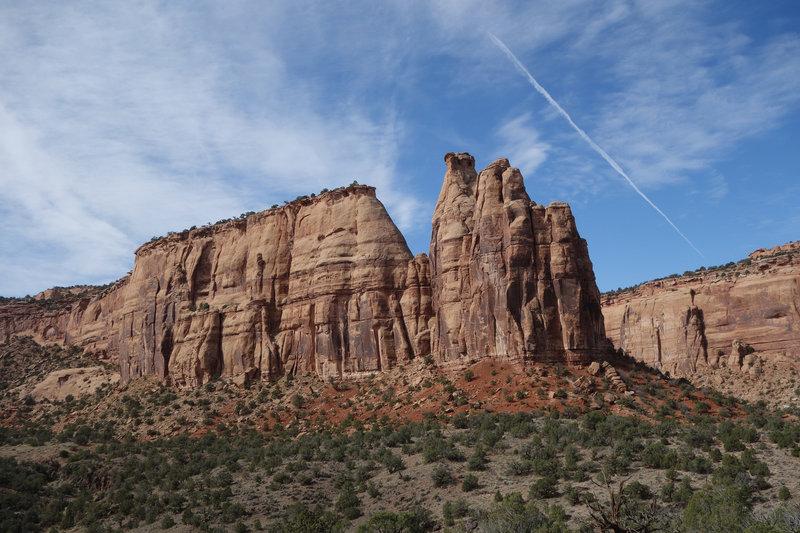 Pipe Organ rock formation at Colorado NM
