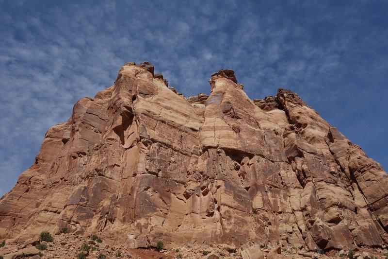 Majestic sandstone at Colorado NM
