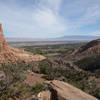 View to the east towards Redlands from the Monument Valley Trail.