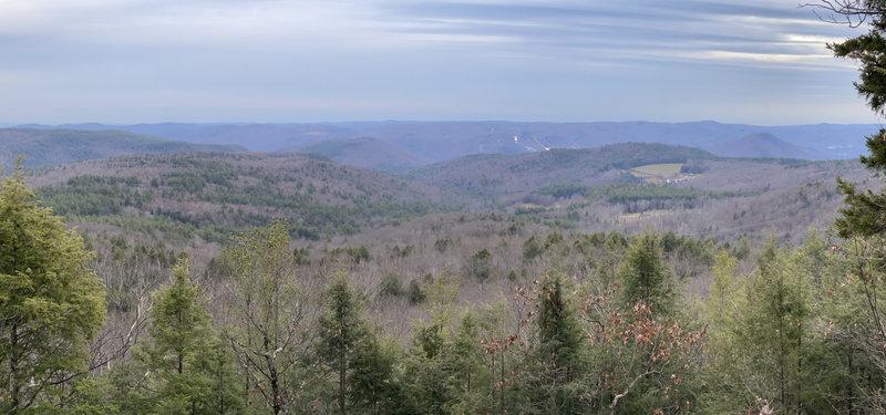The southern view, Nov 2020 - nice open vista