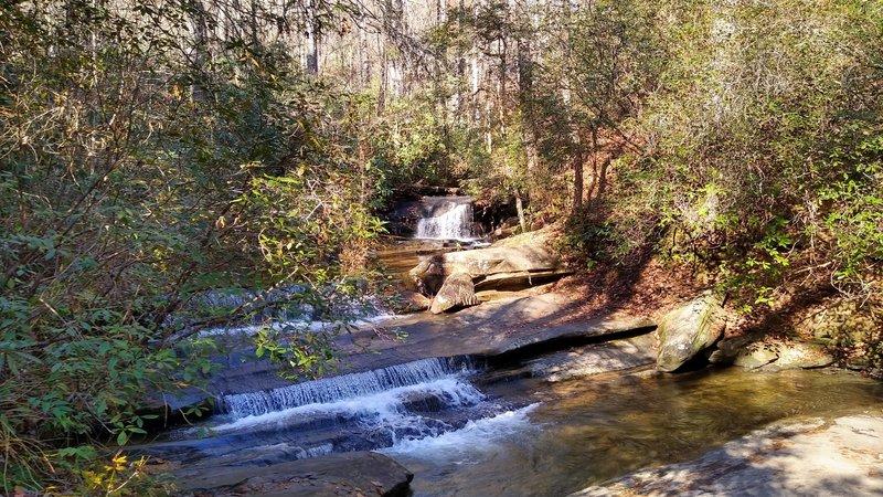 Small waterfall on Carrick Creek.