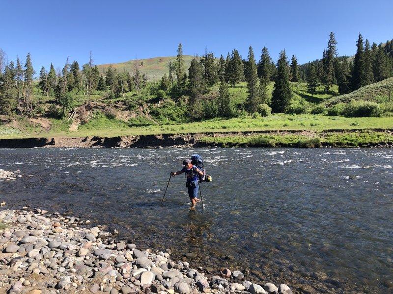 Crossing Cache Creek