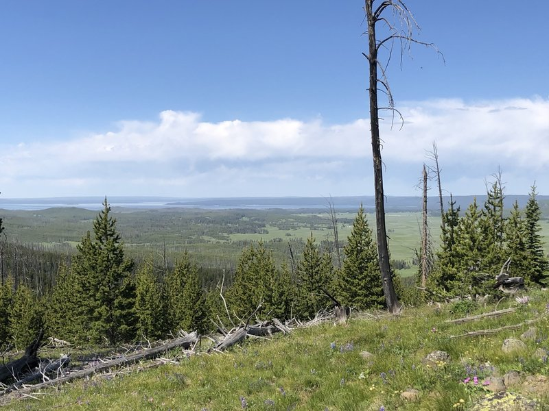 Top of Mist Creek Pass
