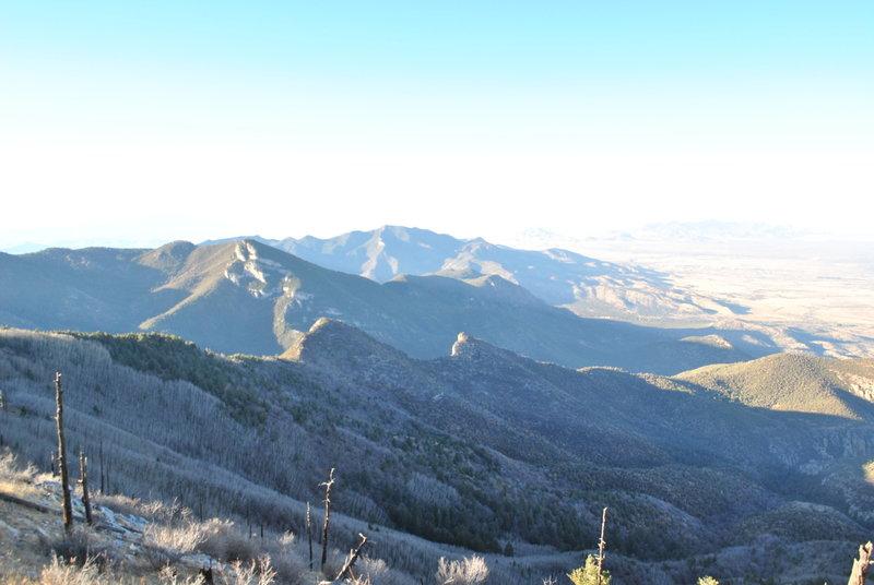 Peak - looking south