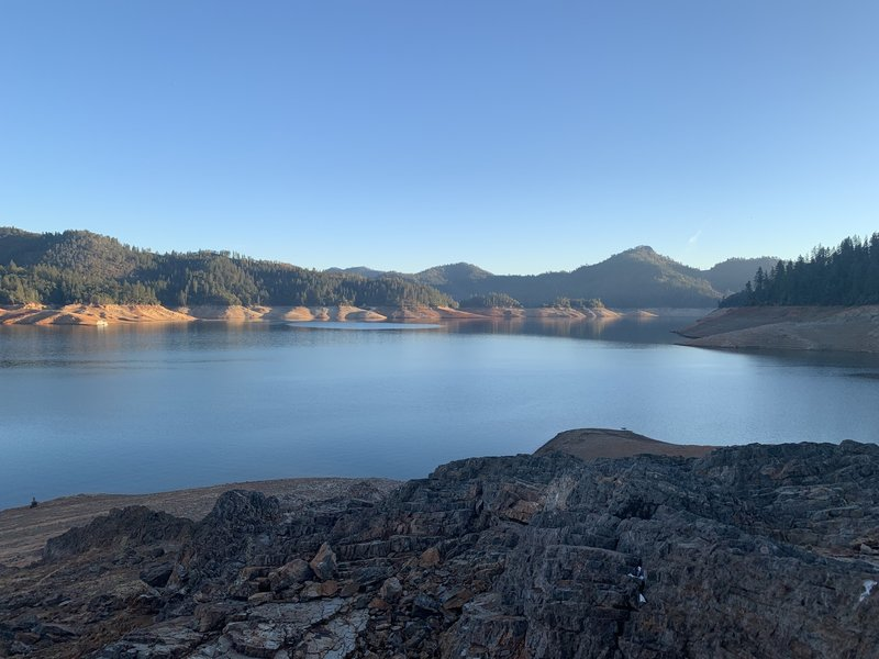 McCloud River Arm on Shasta Lake.