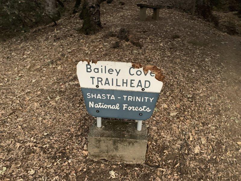 South trailhead sign