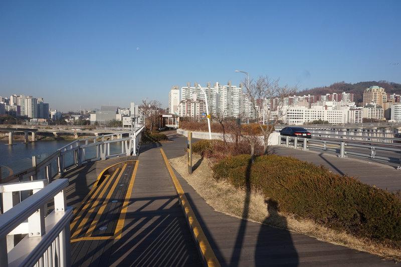 Section 3 on Gwangjingyo Bridge.