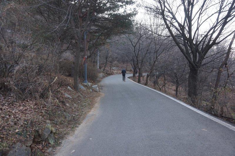 Seoul Trail at Mangu Cemetery Park