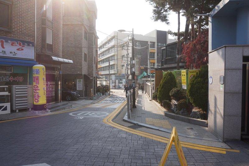 Seoul Trail at  Gwangjang-ro 1-gil