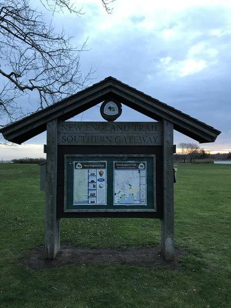 New England Trail Kiosk