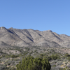View of Cooke's Peak from drive in.